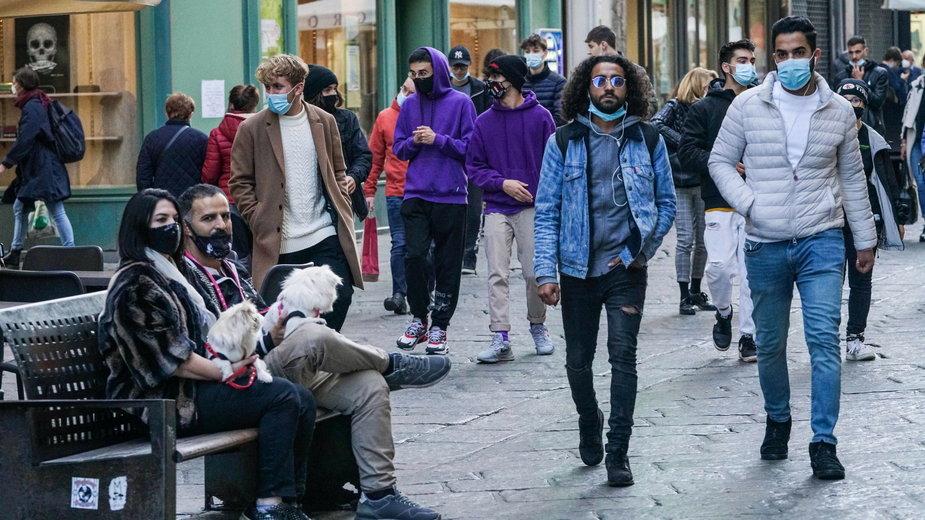 Wczoraj we Włoszech odnotowano rekord nowych zakażeń