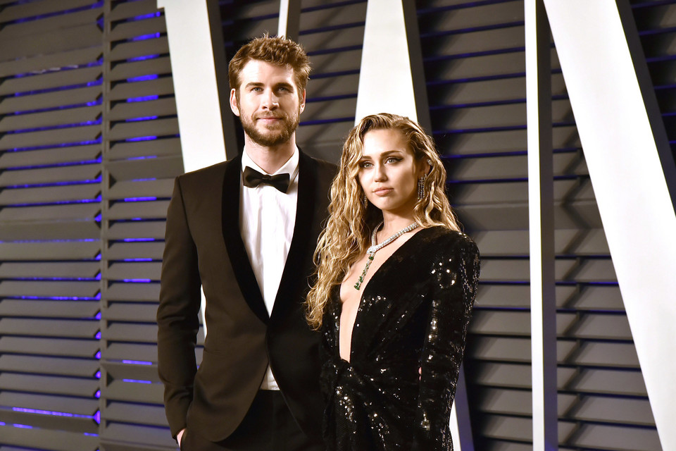Miley Cyrus i Liam Hemsworth w 2019 roku