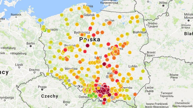 Smog Dzis W Polsce 16 Lutego 2018 Wiadomosci