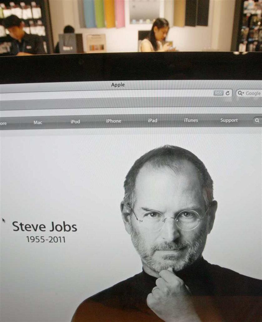 Tusk wspomina Jobsa: Nie marnujcie czasu na...