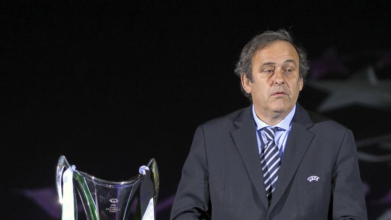 Szef UEFA Michel Platini