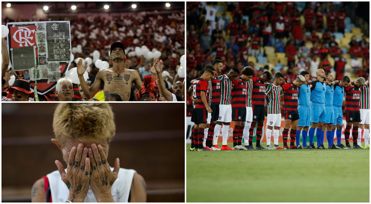 Flamengo, požar, Fluminense