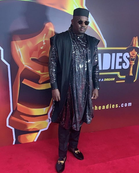 Dr Sid at the Headies 2019 [Instagram/drsid]  Headies 2019: Live updates from 13th edition of music award ceremony K6Xk9kpTURBXy81YjY5NGNmMjBhYjYzNDk4YWNlZjMwOTI2ZGY0Y2NkYi5qcGeRlQLNAeAAwsOCoTABoTEB