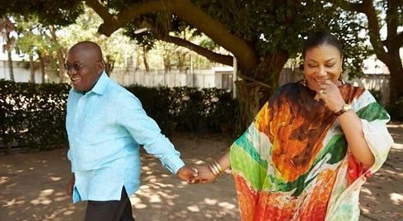 Ghana's President Akufo-Addo shows his romantic side on Valentine's day