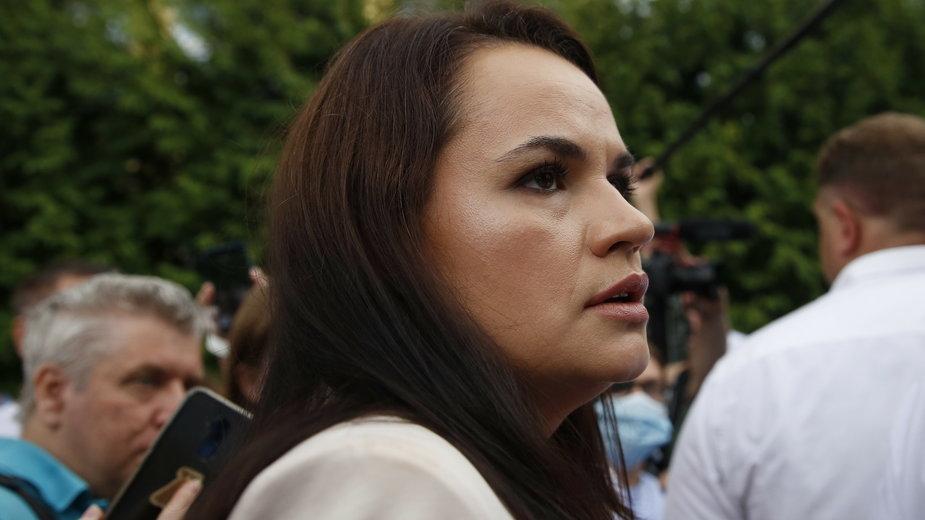 Kandydatka opozycji Swiatłana Cichanouska
