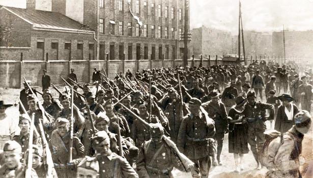 Bitwa warszawska - piechota polska