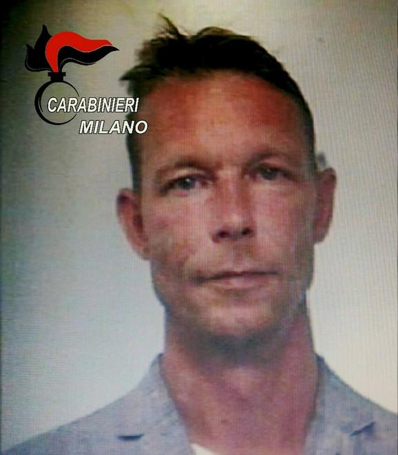 Kristijan Brukner nakon hapšenja u Italiji 2018. zbog droge