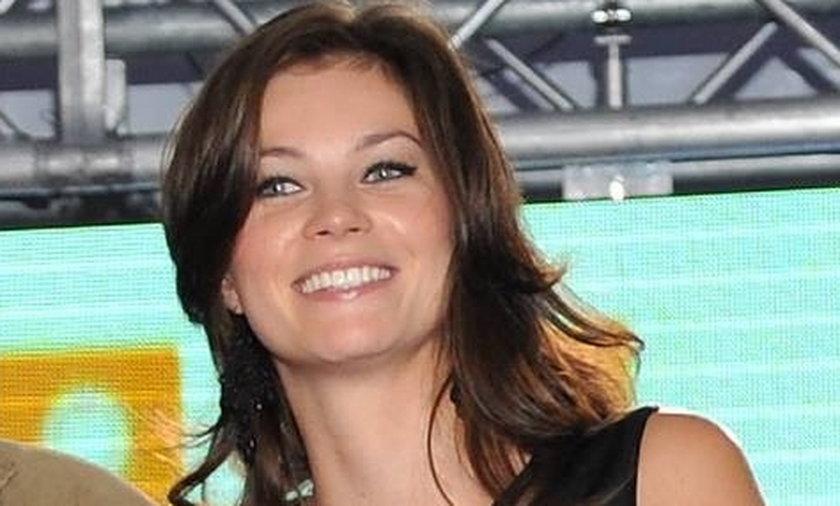 Anna Lucińska promuje serial