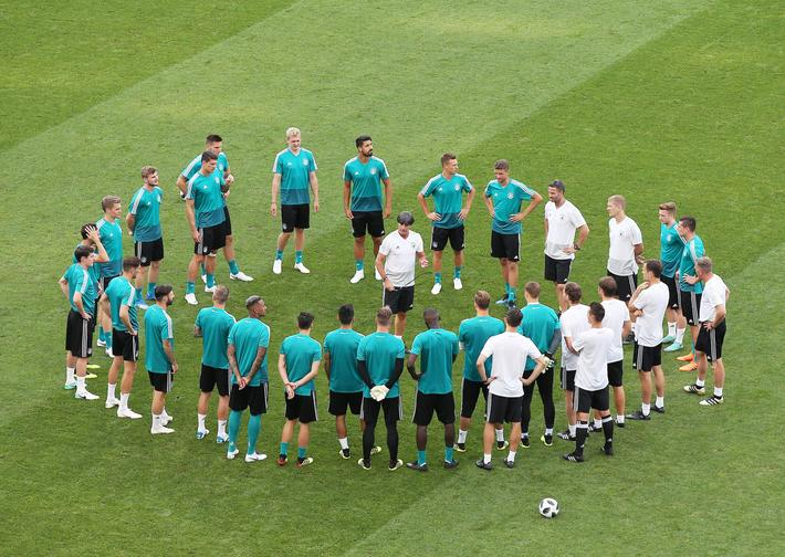 Germany training