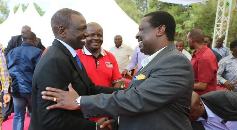Mudavadi calls out DP Ruto over lack of stand on BBI referendum