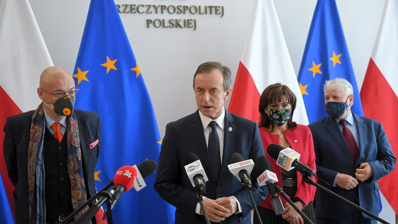 Tomasz Grodzki, Gabriela Morawska-Stanecka, Michał Kamiński, Bogdan Borusewicz