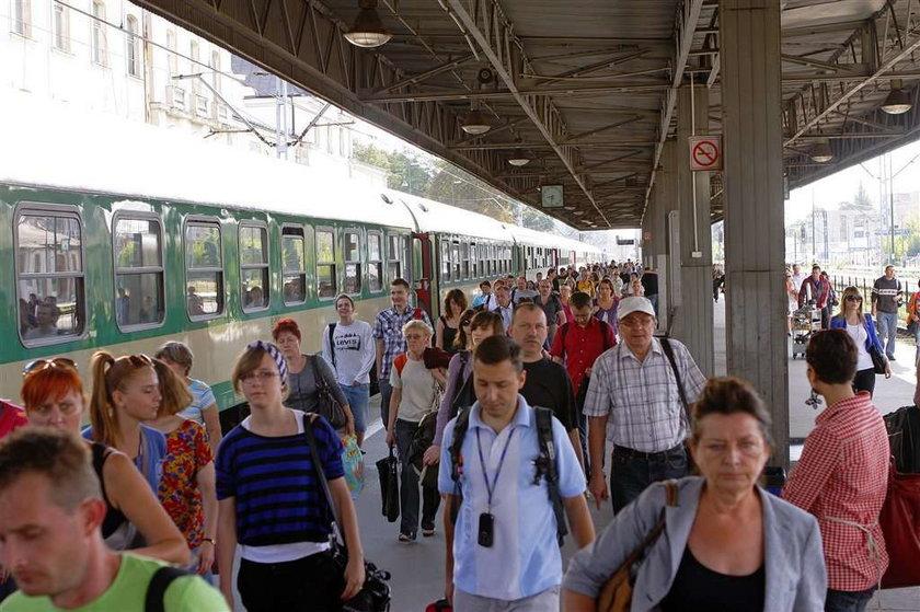Strajk na kolei kosztował nas 5 milionów!