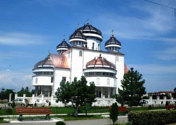 Katedrala u Mioveniju u Rumuniji