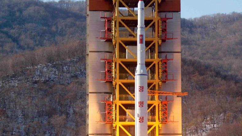 Północnokoreańska rakieta