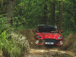 Aston Martin DBX –SUV na medal
