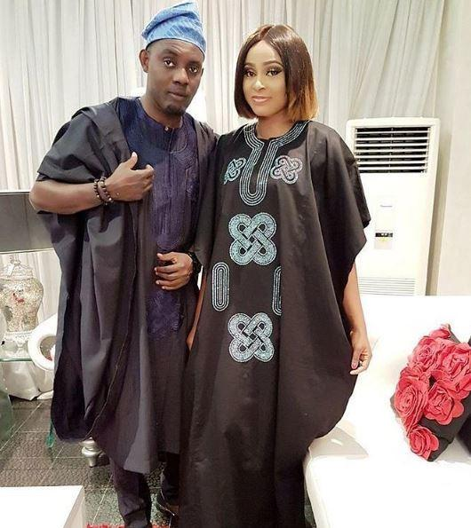 AY Makun and wife