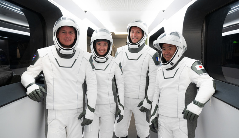 NASA SpaceX Crew-2 - załoga lotu