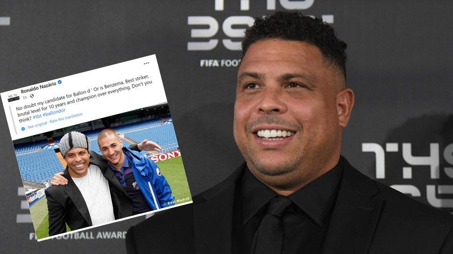 Ronaldo Nazario (facebook.com/Ronaldo)