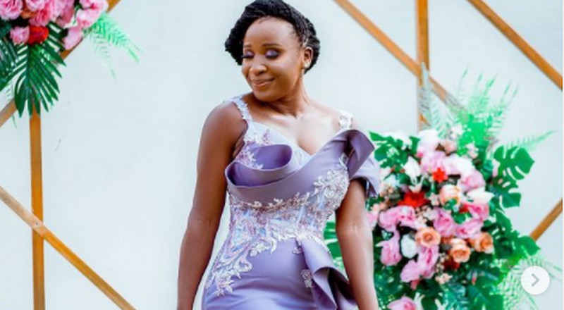 Bridesmaid goals: Naa Ashorkor has the perfect inspiration for the role