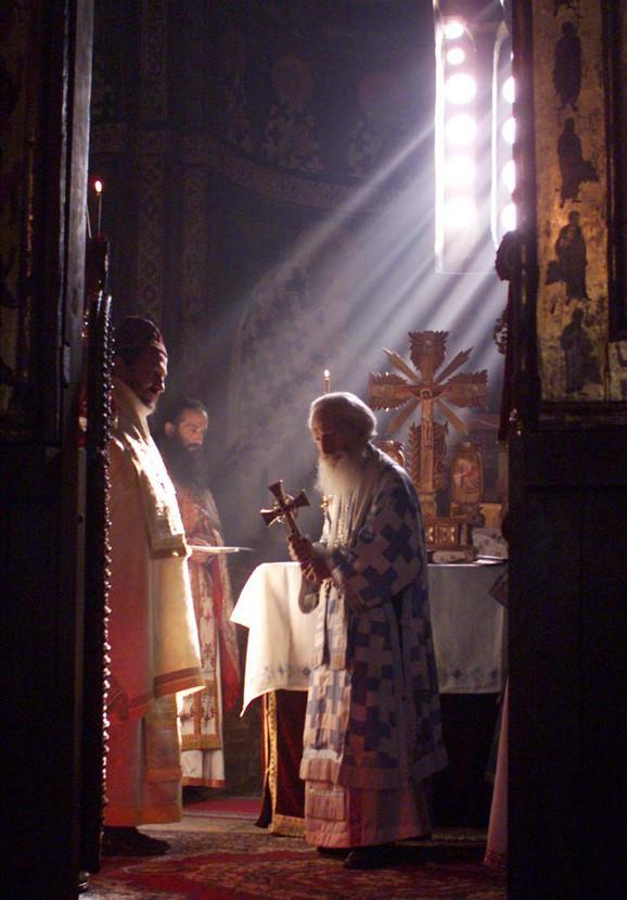 Patrijarh Pavle na Kosovu i Metohiji