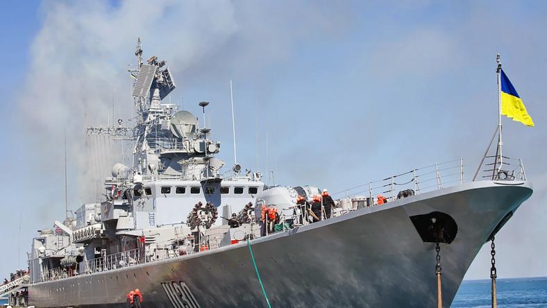 Hetman Sahajdaczny, flagowy okręt ukraińskiej floty