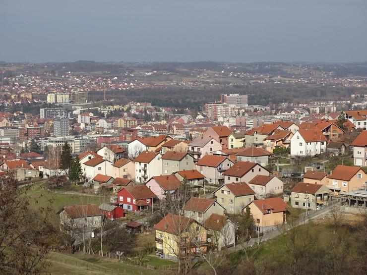 Valjevo panorama grada2021-01