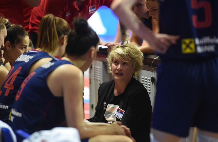 Ženska košarkaška reprezentacija Srbije, Belgije, Košarkašice Srbije, Belgije