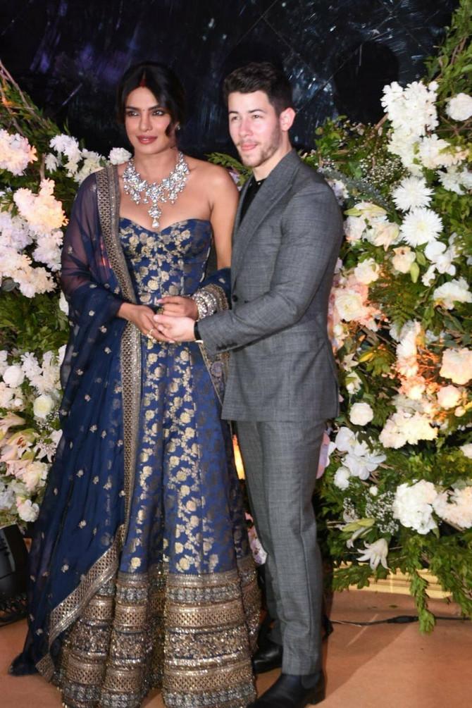 Prijanka i Nik na svom drugom venčanom prijemu