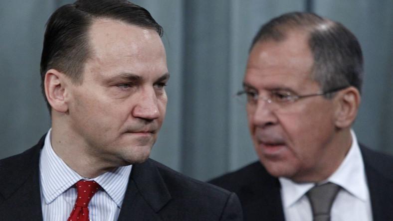 Rosyjska agencja: Ławrow spotka się z Sikorskim