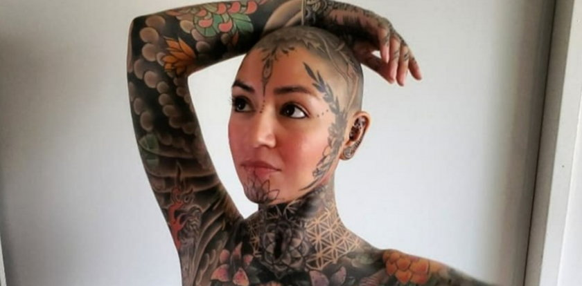 Julia wydała fortunę na tatuaże. Ma je nawet w okolicach intymnych