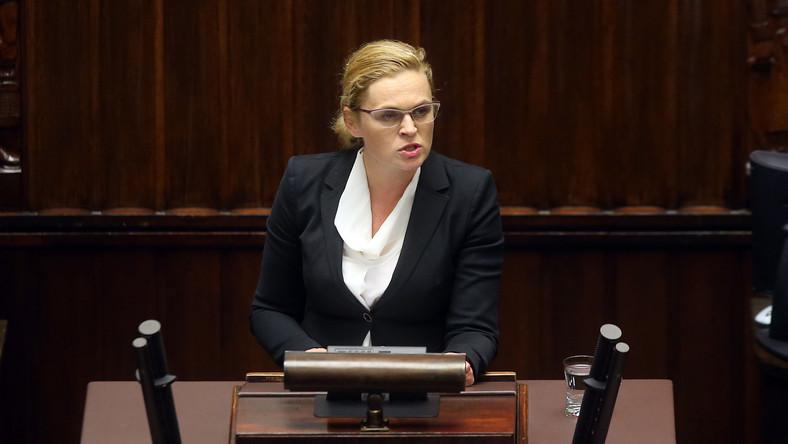 Posłanka Barbara Nowacka