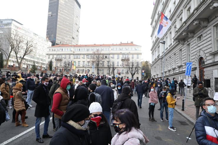 protest ministarstvo privrede foto Mitar itrovic (1)