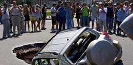 Oto dziury w rosyjskich drogach