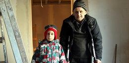 Szykują dom dla Gracjanka i jego taty