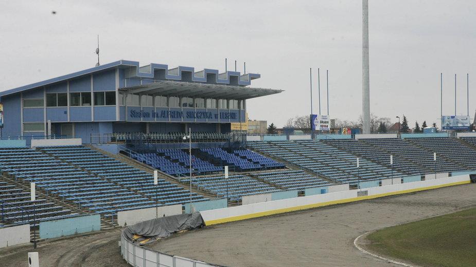 Stadion im. Alfreda Smoczyka w Lesznie