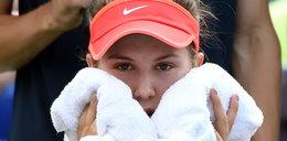 Przewróciła się i raniła się w szatni. Przez to wycofała się z US Open!