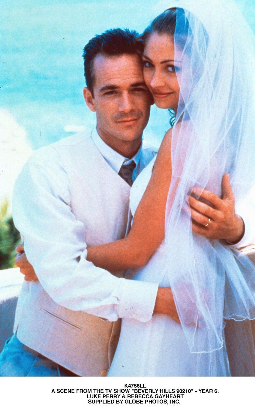 """Scena z serialu """"Beverly Hills 90210"""""""