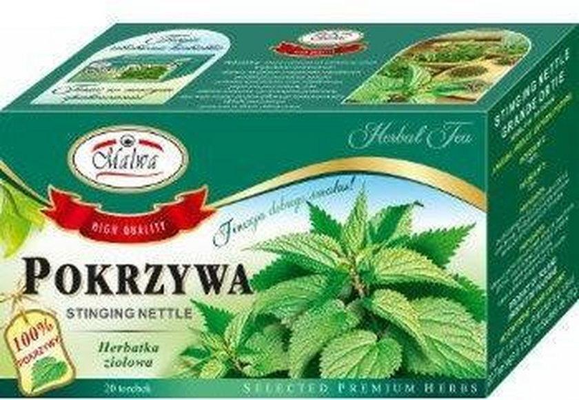 Herbata ziołowa Pokrzywa