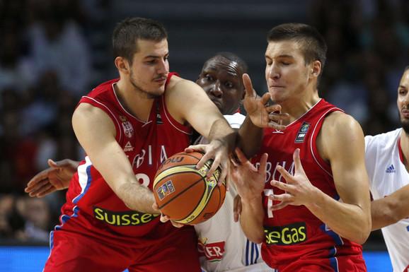 Nemanja Bjelica i Bogdan Bogdanović
