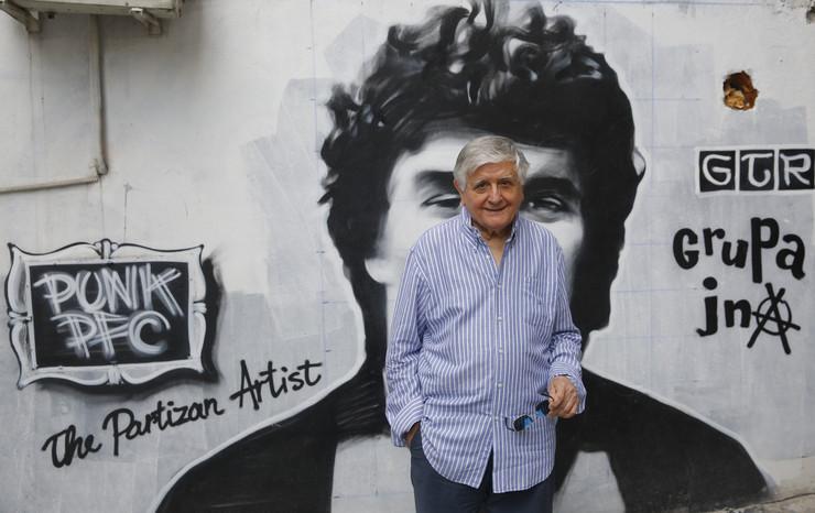 Dejan Mijač, mural Petra Borote
