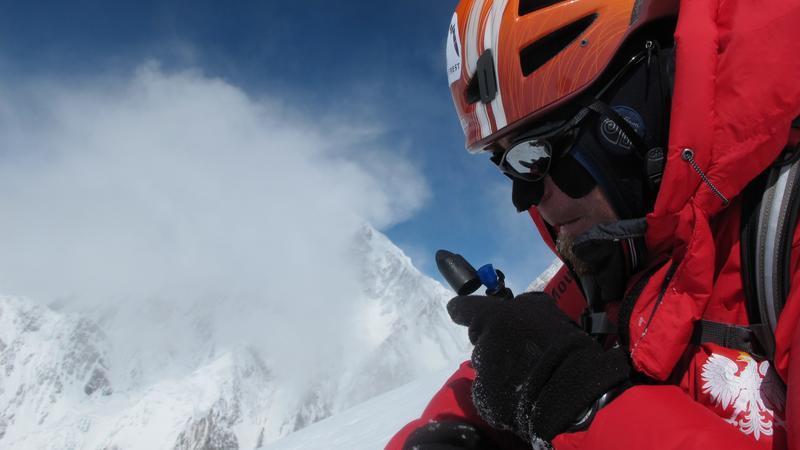 Robert Szymczak pod K2
