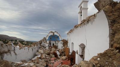 Silne trzęsienie ziemi w Grecji. Wstrząsy odczuwalne nawet w Egipcie