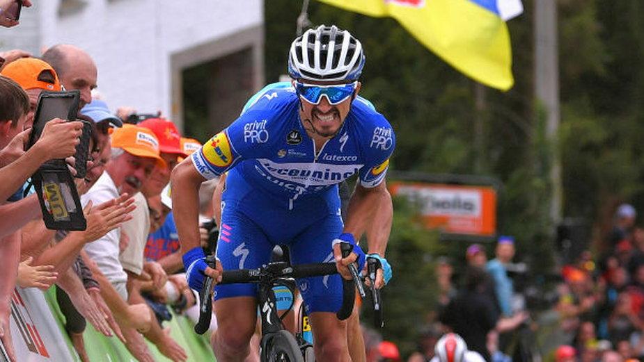 Julian Alaphilippe z drużyny Deceuninck - Quick-Step