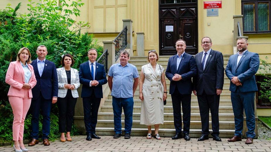 Kolejni małopolscy samorządowcy dołączyli do Polski 2050