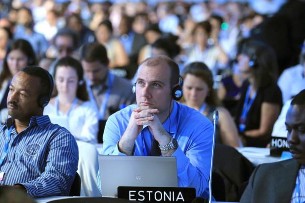 Delegaci na konferencji klimatycznej ONZ w Limie
