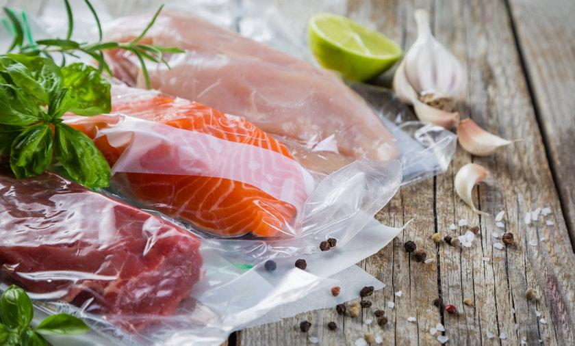 Zapakowana próżniowo żywność dłużej zachowuje świeżość