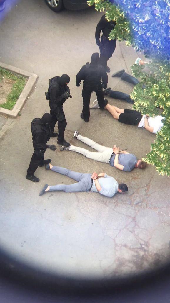 Hapšenje u restoranu
