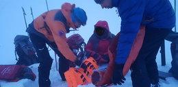 Polak spadł ze szlaku w Tatrach Zachodnich. Akcja ratunkowa