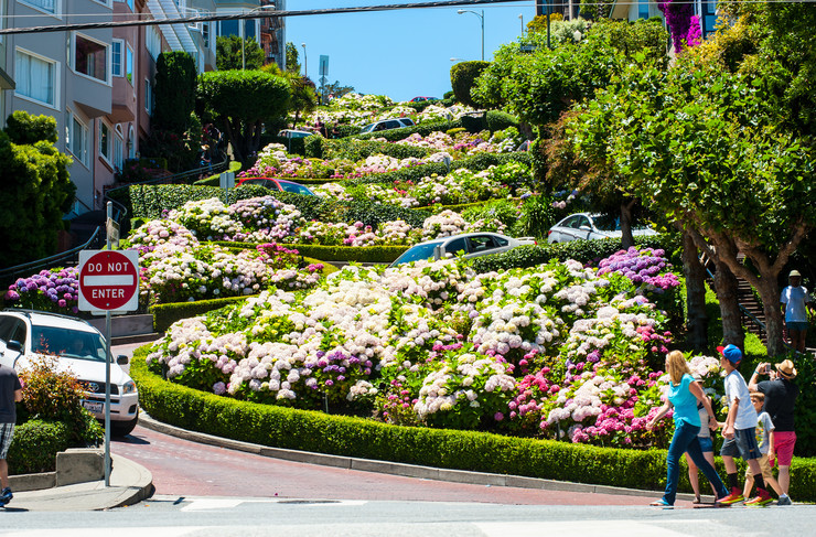 najlepše ulice02 Lombard Street San Francisko foto Flickr jimsideas