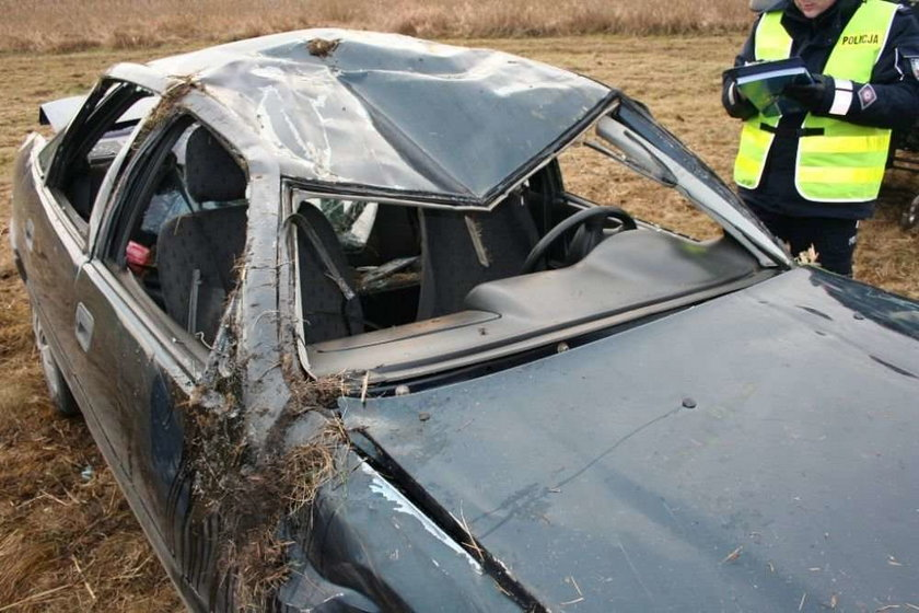 Spadli autem ze skarpy! I wszyscy przeżyli!